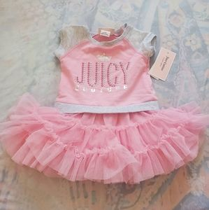 NWT Girls Pink Juicy Couture Dress